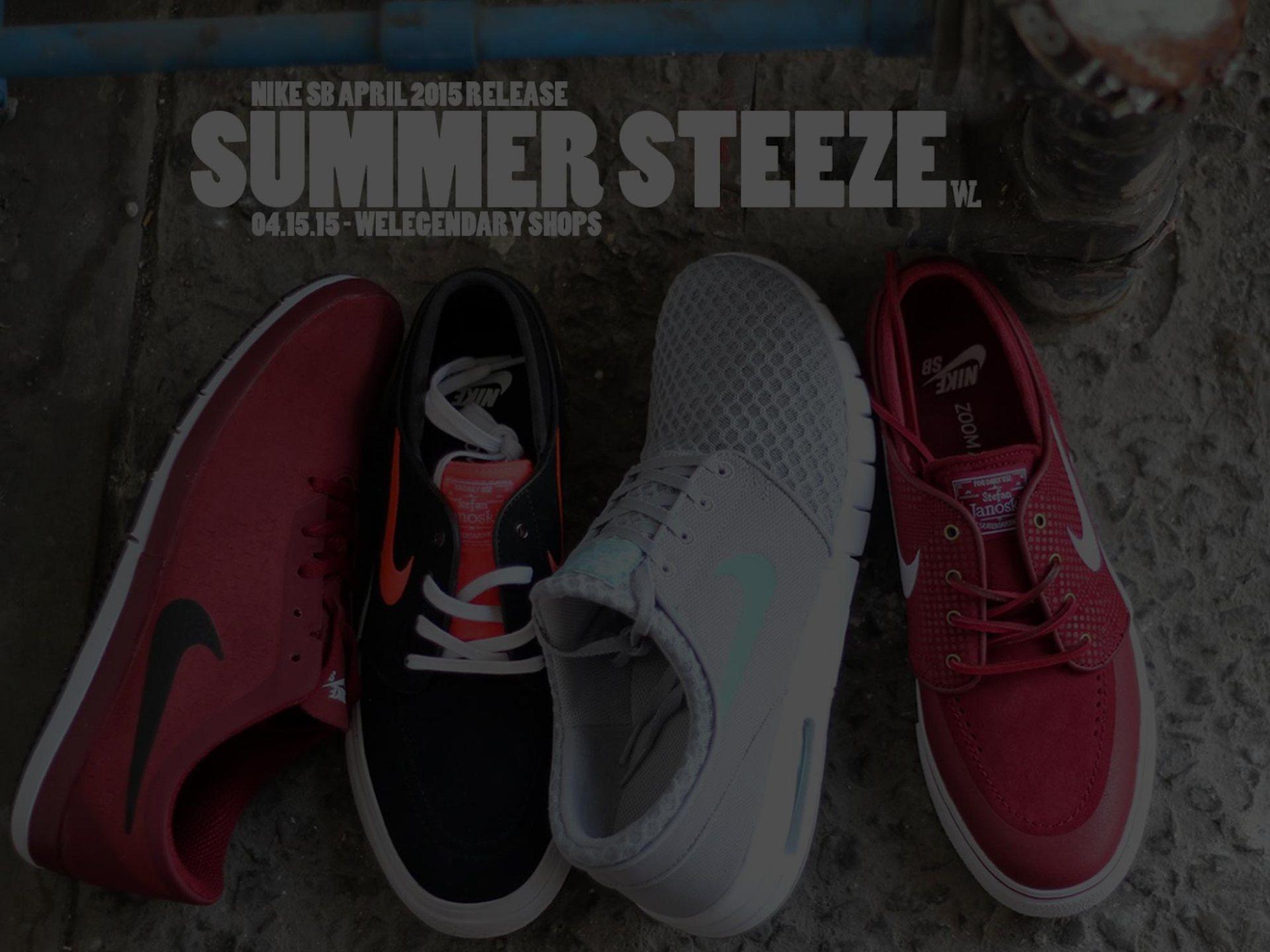 WeLegendary Nike SB April 2015 Releases