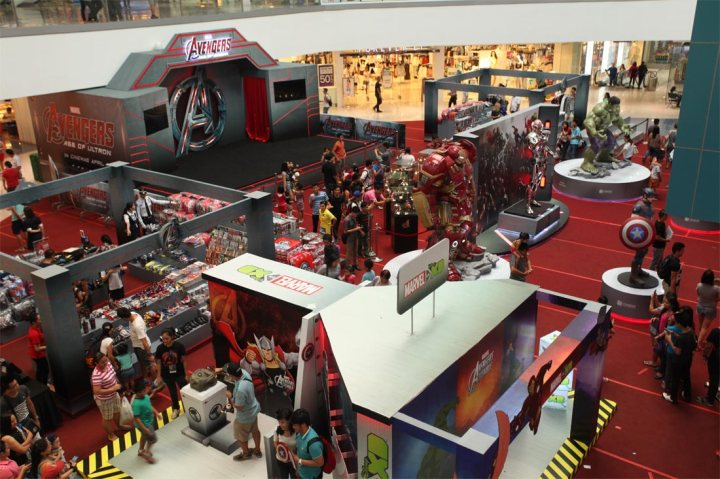 Filbar's and Hot Toys assemble to bring you 'Avengers: Age of Ultron Hot Toys Exhibition' in Manila