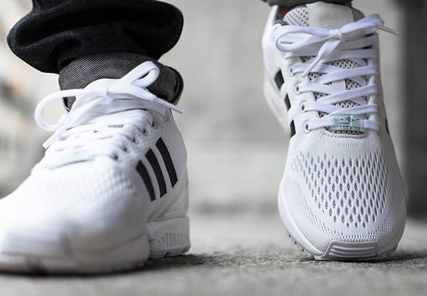 Adidas ZX Flux gets the Superstar treatment
