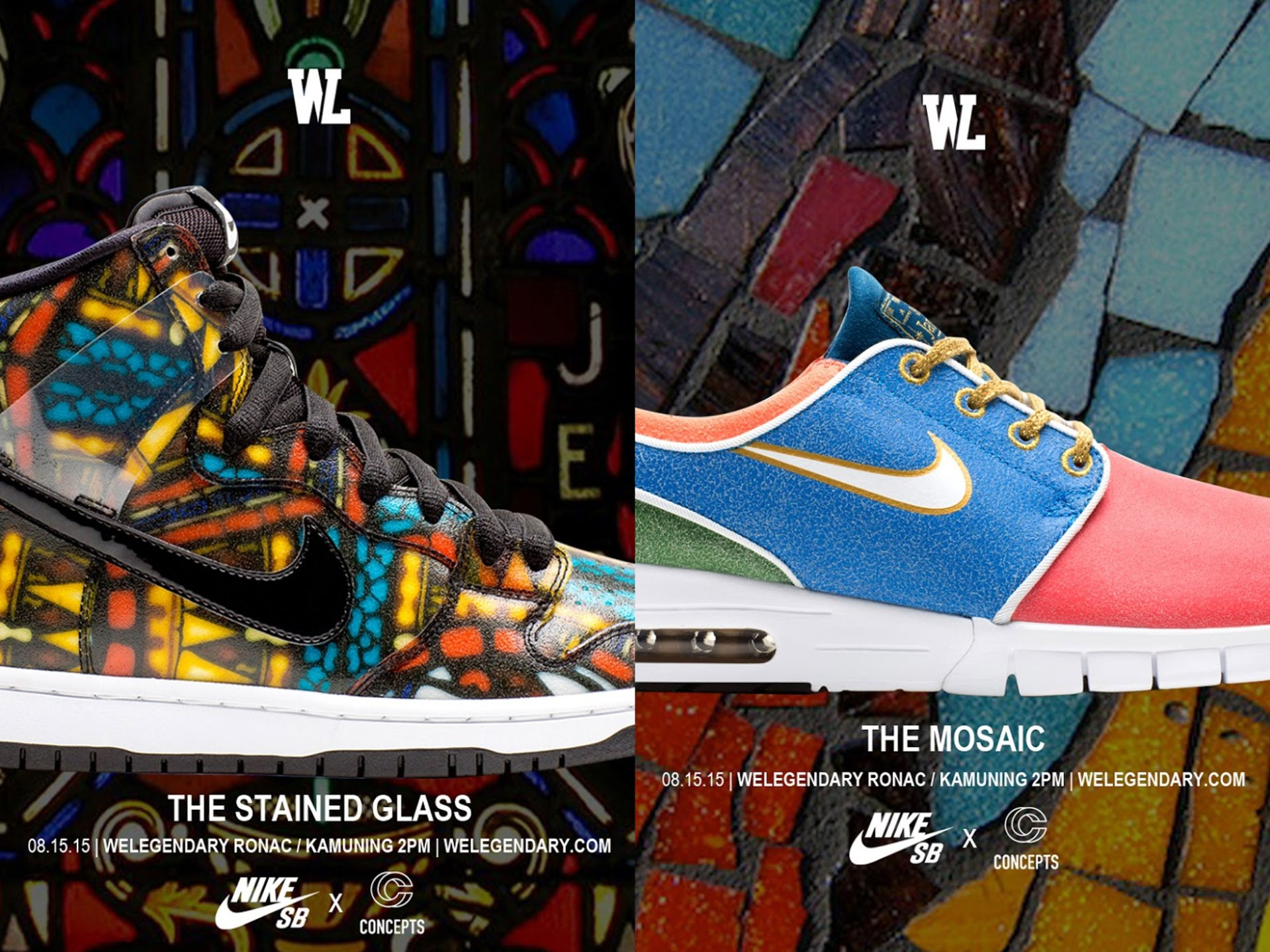 Nike SB x Concepts dropping at WeLegendary