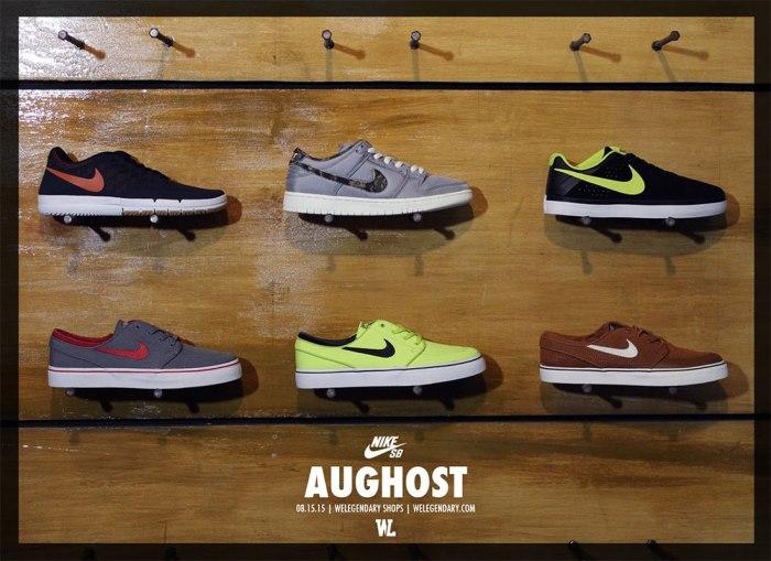 WeLegendary Nike SB August 2015 release