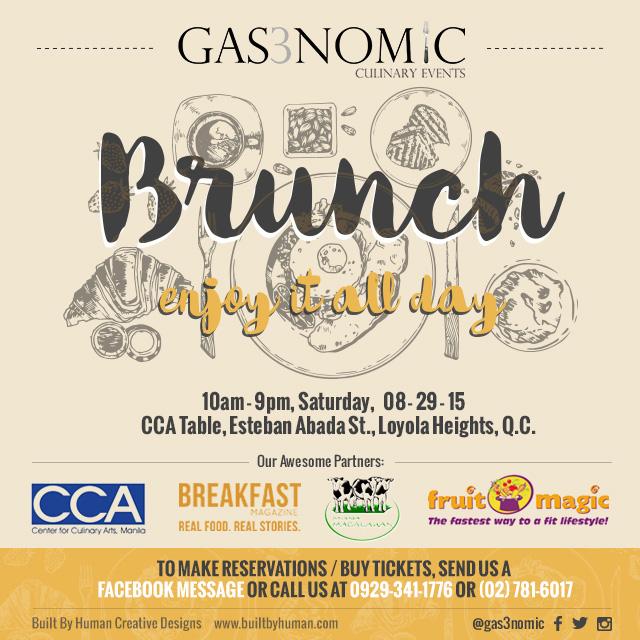 Gas3nomic Brunch Event