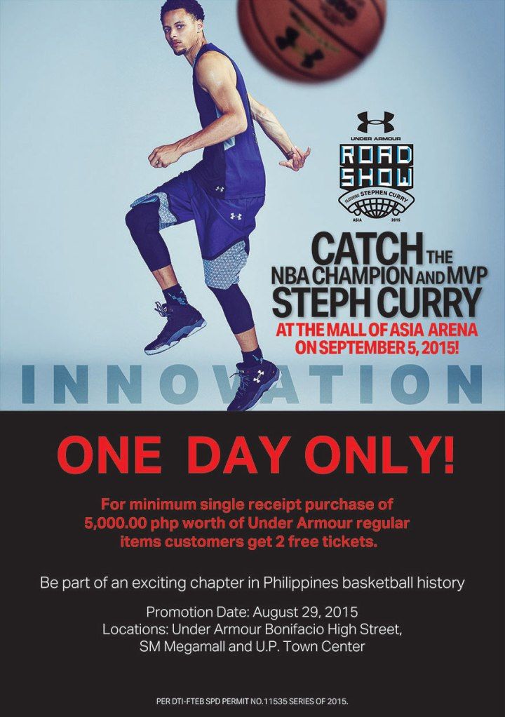 Under Armour Road Show with Steph Curry