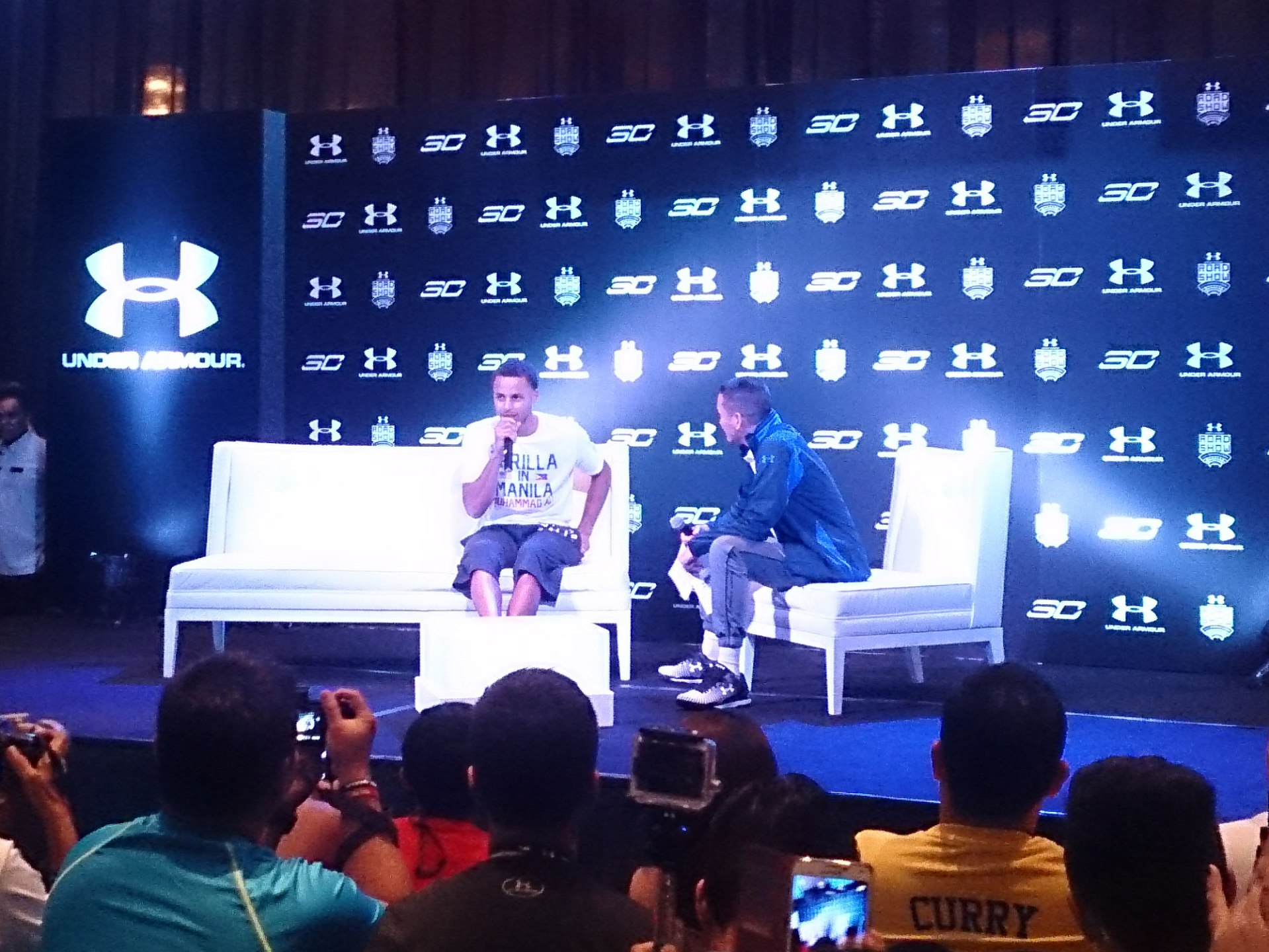 Under Armour Roadshow featuring Stephen Curry