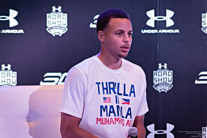 Under Armour Roadshow Manila with Stephen Curry